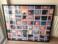 """64 ABSTRACT PAINTING by Gary Max Collins Art Wall Print 45"""" (115cm) x 37"""" (95cm)"""