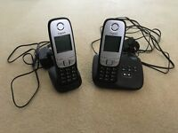 Twin Gigaset Phone with Answer Machine