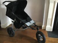 Mountain Buggy - Urban - Black - good condition with accessories included