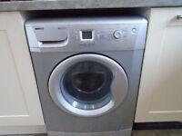 Beko large capacity washing machine 8kg.