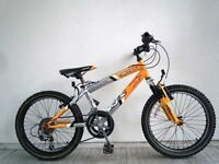 "(2014) 20"" 12"" SILVERFOX SFX BIGFOOT BOYS GIRLS MOUNTAIN BIKE BICYCLE; Age: 7-10; Height: 120-140 cm"