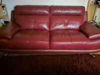 Harveys Genoa 3+2 seater sofa & footstool , Four months old