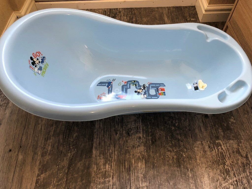 Disney Mickey Mouse Baby Bath, Blue | in Galashiels, Scottish ...