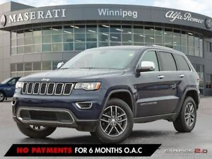 2017 Jeep Grand Cherokee LIMITED: PRARIE VEHICLE, ACCIDENT FREE,