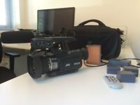 JVC ProHD GY-HM100E High Definition Camcorder