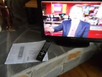 """SILVERCREST 22"""" LCD TV - FULLY WORKING WITH REMOTE - HDMI & USB PORTS"""