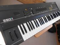 Ensoniq ESQ-1 analogue/digital synth ex cond