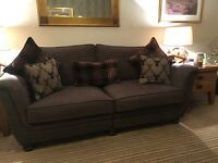 GALLOWAY 4 SEATER SOFA -- months old