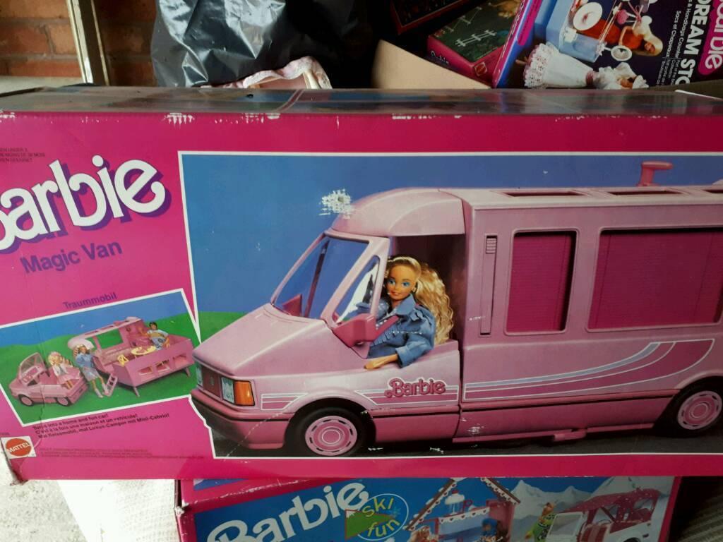 1989 Barbie magic campervan