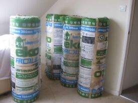 Loft insulation, 4 rolls,