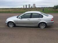 BMW 320D SE, 2002, Titan Silver Diesel Saloon - with Winter tyres - 12month MOT, No advisories