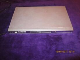 Dvd player silver WORKING. NO remote.