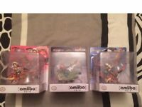 Nintendo Amiibo Collection, rare Amiibo's from Japan, Monster Hunter