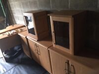 Whole set of office furniture