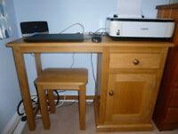 Bespoke Oak Desk