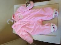 Carter's hooded bunting (0-3m) brand new