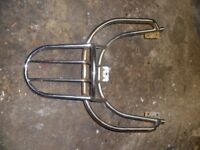 Aprilia Habana - Mojito 50cc & 125cc Luggage rack fits both Custom & Retro