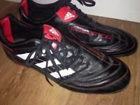 Adidas predator Traxion AG football boots, UK size 12 (super deal)