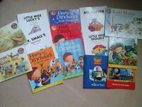 Childrens books various titles included Harry and Dinosaurs Mr Men and Little Miss and other books