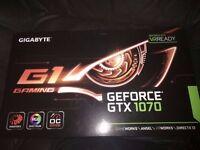 BRAND NEW Gigabyte GeForce® GTX 1070 G1 Gaming Graphics Card