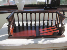 For sale Mahogany book shelf