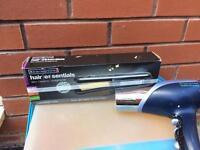 Remington straightener & hair dryer