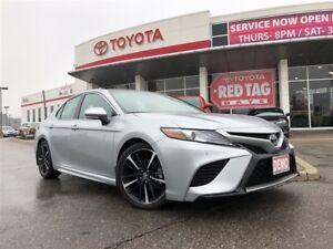 2018 Toyota Camry XSE V6 Demo,winter tires, remote starter