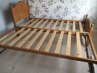 M&S Solid Wood Single Trundle Bed