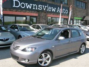 2006 Mazda MAZDA3 SPORT AUTO!!! LOADED!!! HATCHBACK!!! SUNROOF!!