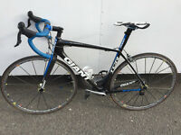 FULL carbon fiber road bike giant TCR advanced SL with mavic Carbon spoke SLS wheels - Great Gift