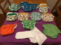All in one reusable nappies bundle Bambino Miosolo