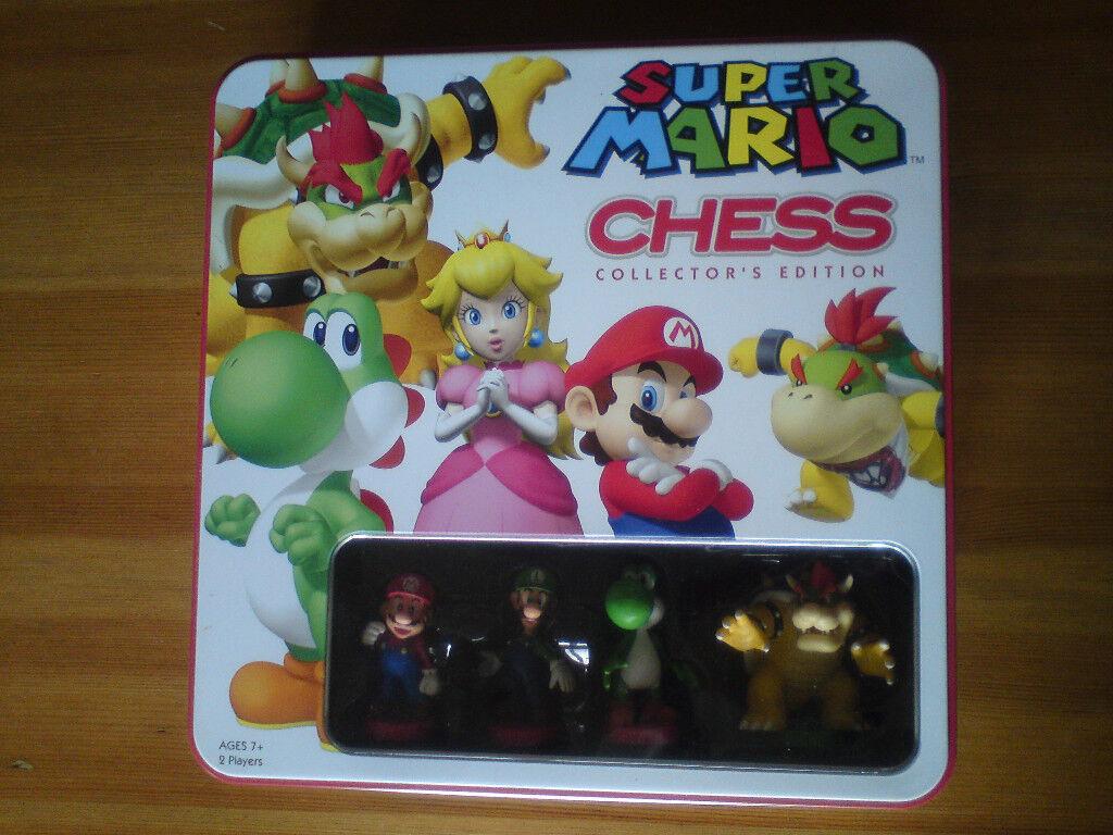 Very rare limited edition Super Mario Nintendo large Chess set