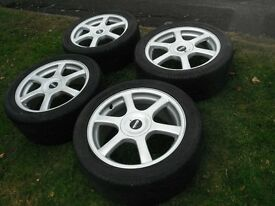 SET 4,STUNNING 16 INCH,TSW STEALTH 16 INCH,ALLOY WHEELS AND TYRES,5 X 114/114.3 PCD,C/W KEY,LEVER