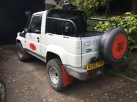 Daihatsu Fourtrak upgraded to off road by BloodRedOffroad