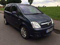 Vauxhall Meriva 2009 1.6 Automatic PETROL AND LPG DUAL FUEL