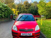 TOYOTA YARIS 2004 5DR 80K MILES 12 MONTH MOT IDEAL FIRST CAR CHEAP TO INSURE