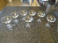 RETRO BABYCHAM GLASSES