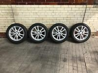 4 x Toyota Avensis alloy wheels and tyres