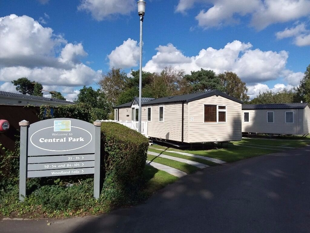 Elegant UK Private Static Caravan Holiday Hire At Rockley Park Poole Dorset