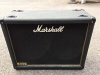 "Marshall 1922 2x12"" Guitar Amplifier Extension Cab"