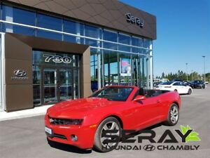 2011 Chevrolet Camaro 2lt rs decapotable v6 cuir
