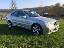 Mercedes C220 cdi auto sport . Only 79k FSH
