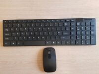 Cordless Keyboard and Mouse. Brand new