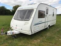 Sterling Eccles Onyx 2006 fixed bed with awning