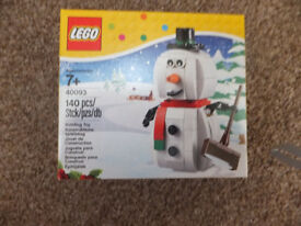 lego xmas sets all brandnew sealed £60 the lot