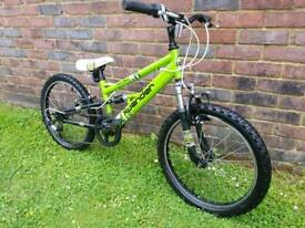 Child's Apollo mountain bike 20inch wheels