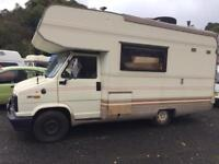 FIAT DUCATO 2.5 TD LEFT HAND DRIVE MOTOHOME ( LOOK)