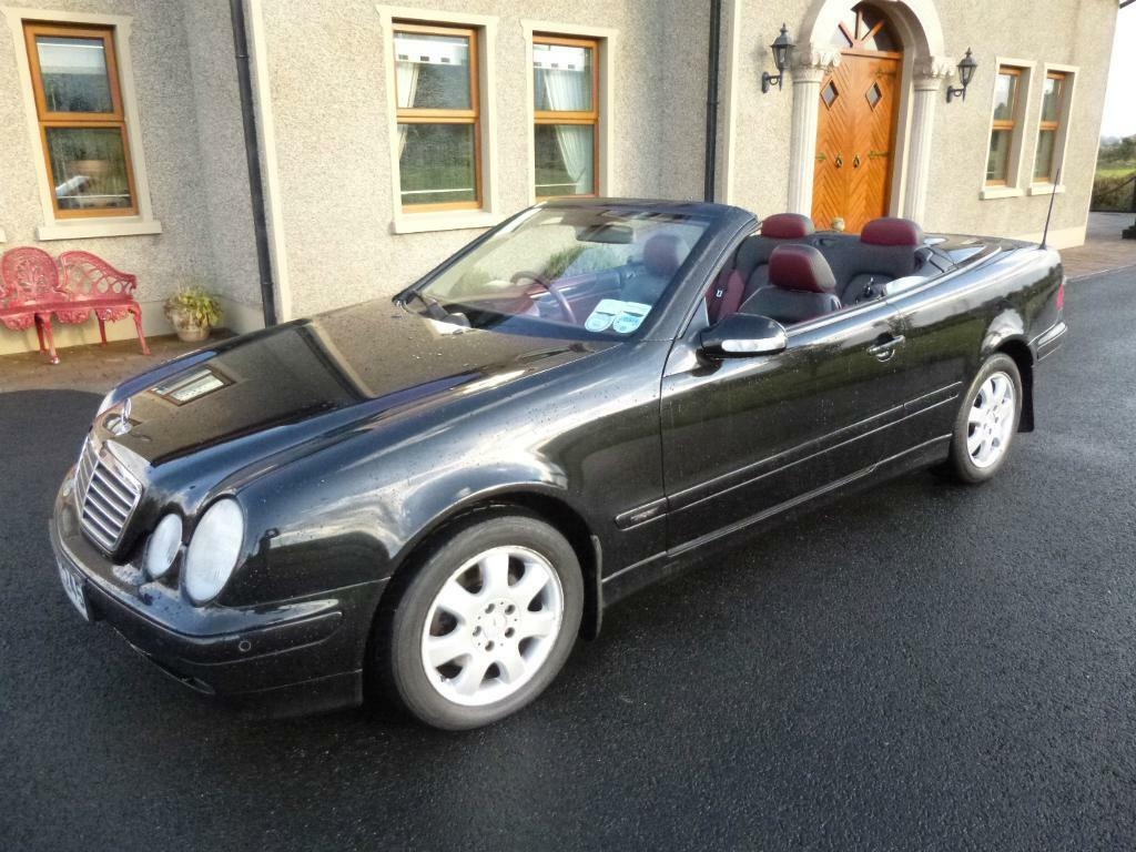 2002 Mercedes Clk 320 Avantgarde Auto Convertible Only