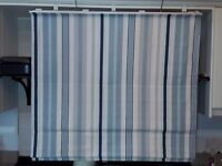 2 Roman Blinds with Black Out Linings, made by Laura Ashley