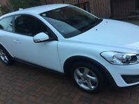 2012 White Volvo C30 2L Petrol - Immaculate condition